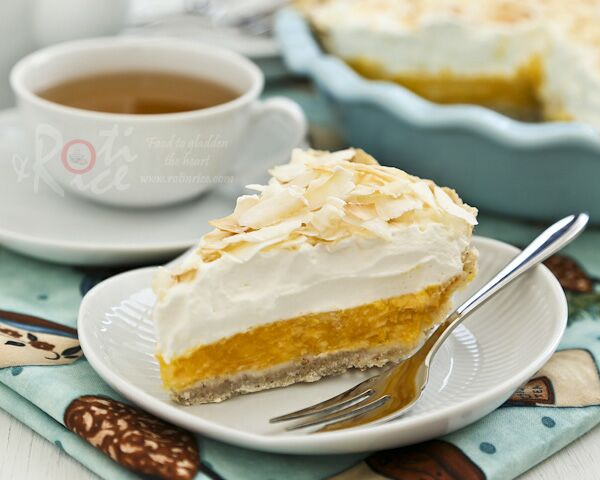 Mango Coconut Cream Pie