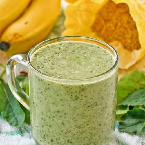 Give your body a nutritional boost with this Power Greens Banana Smoothie.