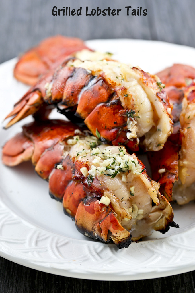 Succulent Grilled Lobster Tails
