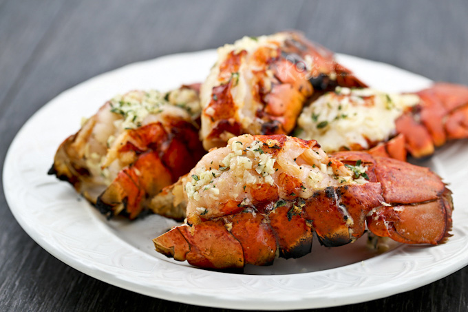 Grilled Lobster Tails - the ultimate appetizers.