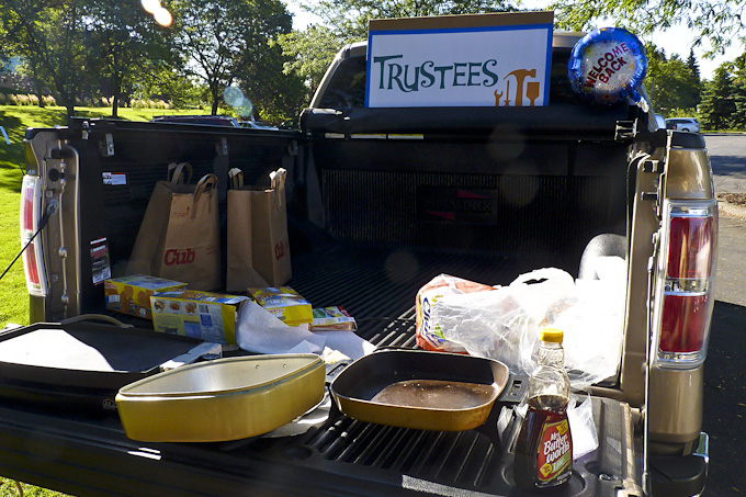 Church Tailgating Party - Trustees Ministry.