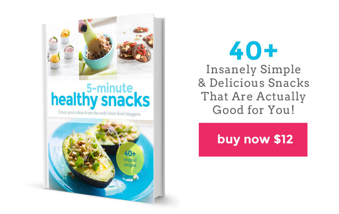 Healthy Snacks Website Cookbook