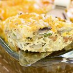 Sausage Hash Brown Egg Bake