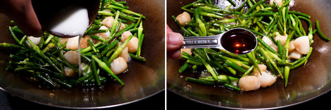Garlic Scape and Scallop Stir Fry-11