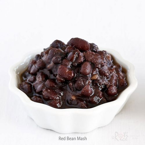 Learn how to make Sweet Red Bean Mash in this video tutorial. It is a popular ingredient used in many Chinese and Southeast Asian desserts. | RotiNRice.com