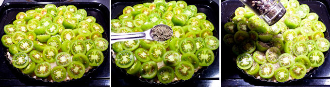 Green Tomato Tart-13