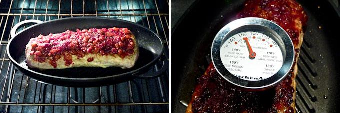 Cranberry Sauce Pork Loin Roast-9
