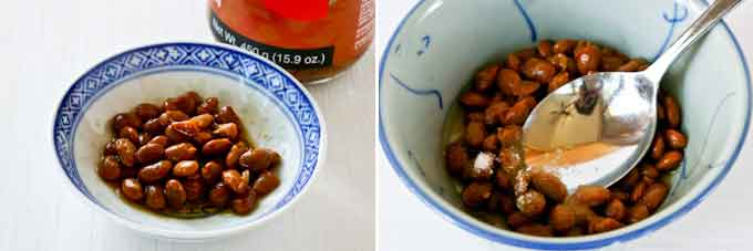Tau Cheow Bak with Tomatillos (Fried Pork with Salted Soy Beans and Tomatillos)-7