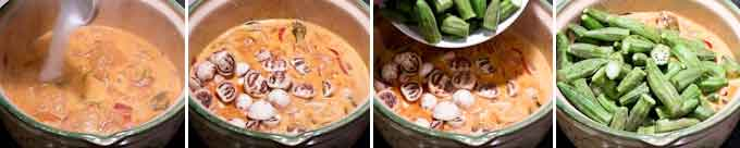 Fish Curry with Okra and Eggplant-10