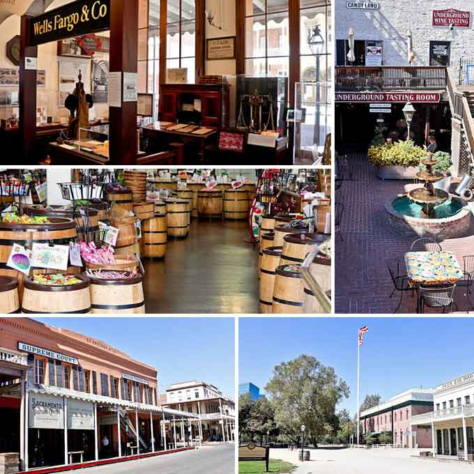 Sightseeing Sacramento Post IFBC 2017 - visit to El Dorado Wine Country with food and wine tasting and exploration of Old Sacramento. | RotiNRice.com