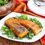 Crispy Skin Turmeric Salmon