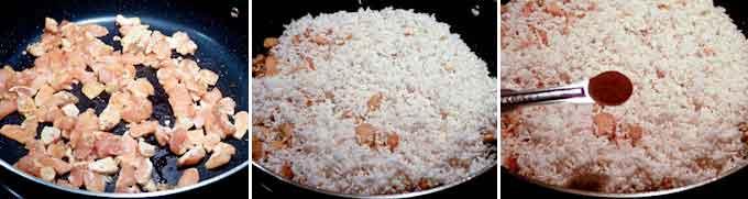 Yam / Taro Rice-7