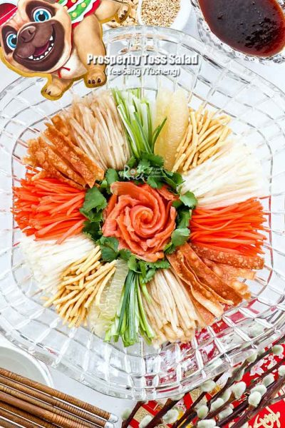 Yee Sang/Yusheng for the Year of the Dog.