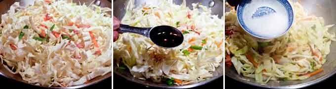 Ham Cabbage Stir Fry-7