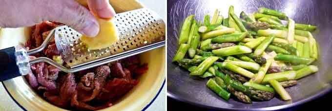Sesame Beef Asparagus Stir Fry-7