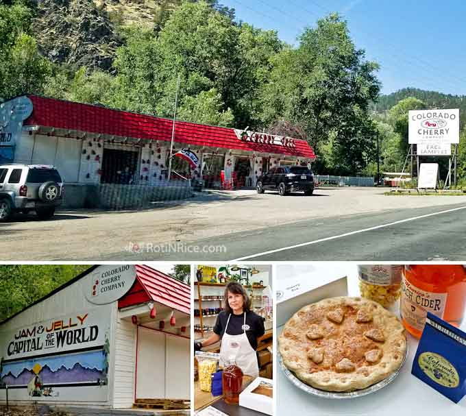 Colorado Honey and Cherry Season - summer time in Northern Colorado with a drive out towards the mountains for local honey and freshly baked cherry pies. | RotiNRice.com