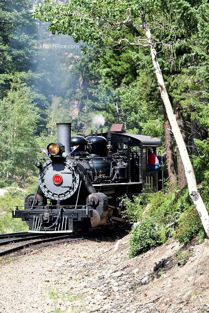 A fun and scenic day excursion to the Georgetown Loop Railroad riding on a vintage steam locomotive between Georgetown and Silver Plume, Colorado. | RotiNRice.com