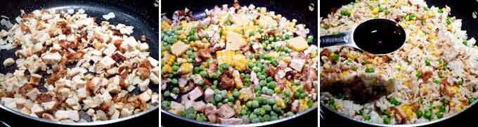 Chicken and Corn Fried Rice-6