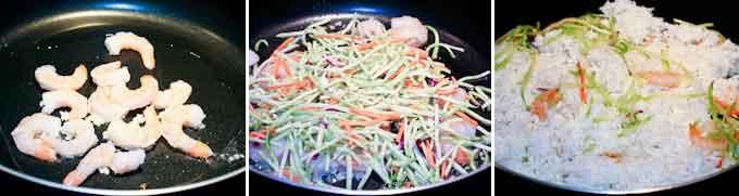 Shrimp and Broccoli Slaw Fried Rice-8