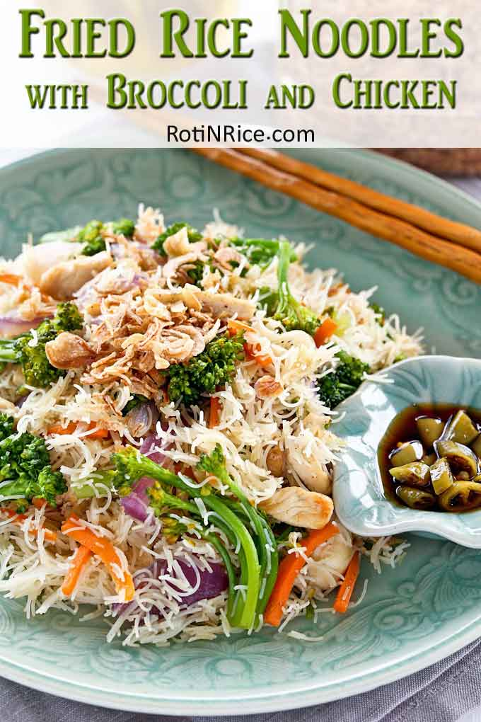 Fried Rice Noodles Collage 1
