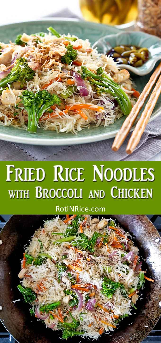 Fried Rice Noodles Collage 4