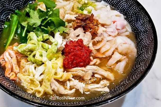 Nyonya Birthday Noodles (Lam Mee)