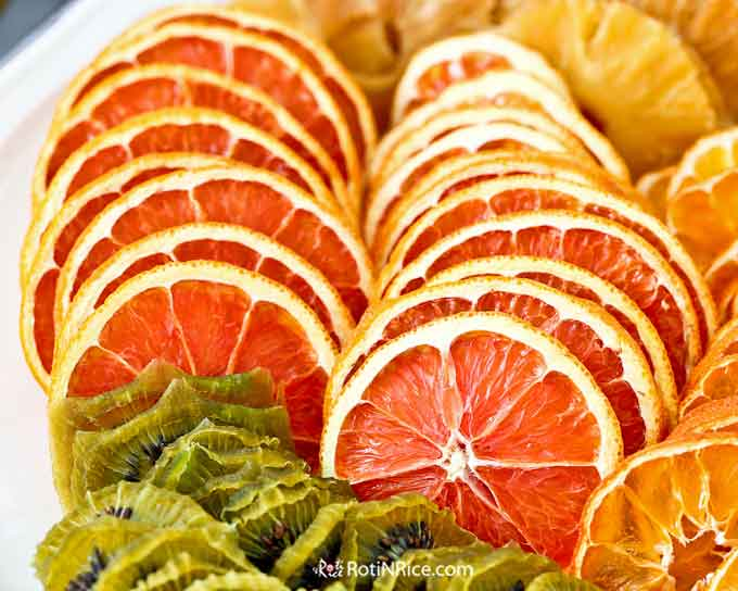 Dried cara cara orange slices
