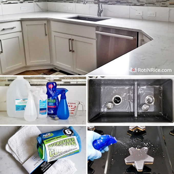 Clean And Sanitize Countertop Sink