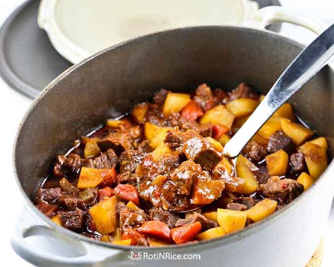Delicious Marmite Beef Stew
