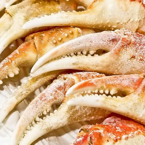 Super quick and easy Boiled Crab Claws.