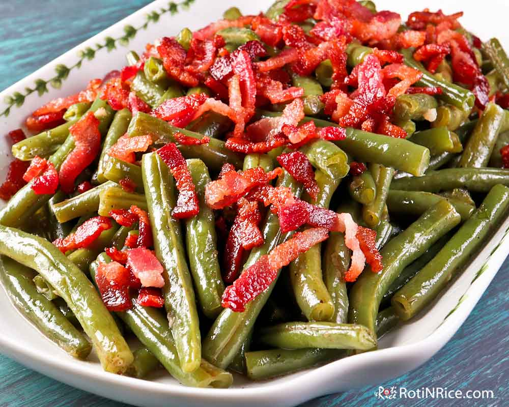 Green Beans with Bacon - a perfect side dish.