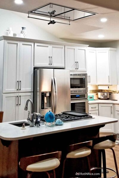 Our Kitchen Tour with a contemporary layout